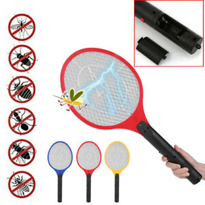 Mosquito-Swatter-Electric-Bug-Pest-Insect-Fly-Wasp-Handheld-Racket-Zapper-Killer
