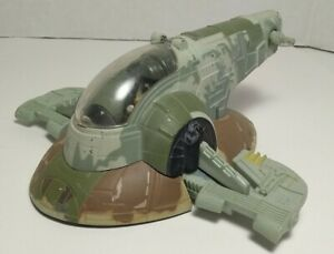 Star Wars Disney Store Boba Fett Slave 1 Die-cast Space Ship