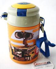 VERY RARE WALL-E DRINKING FLASK WATER BOTTLE KIDS DRINKWARE DISNEY PIXAR NEW !