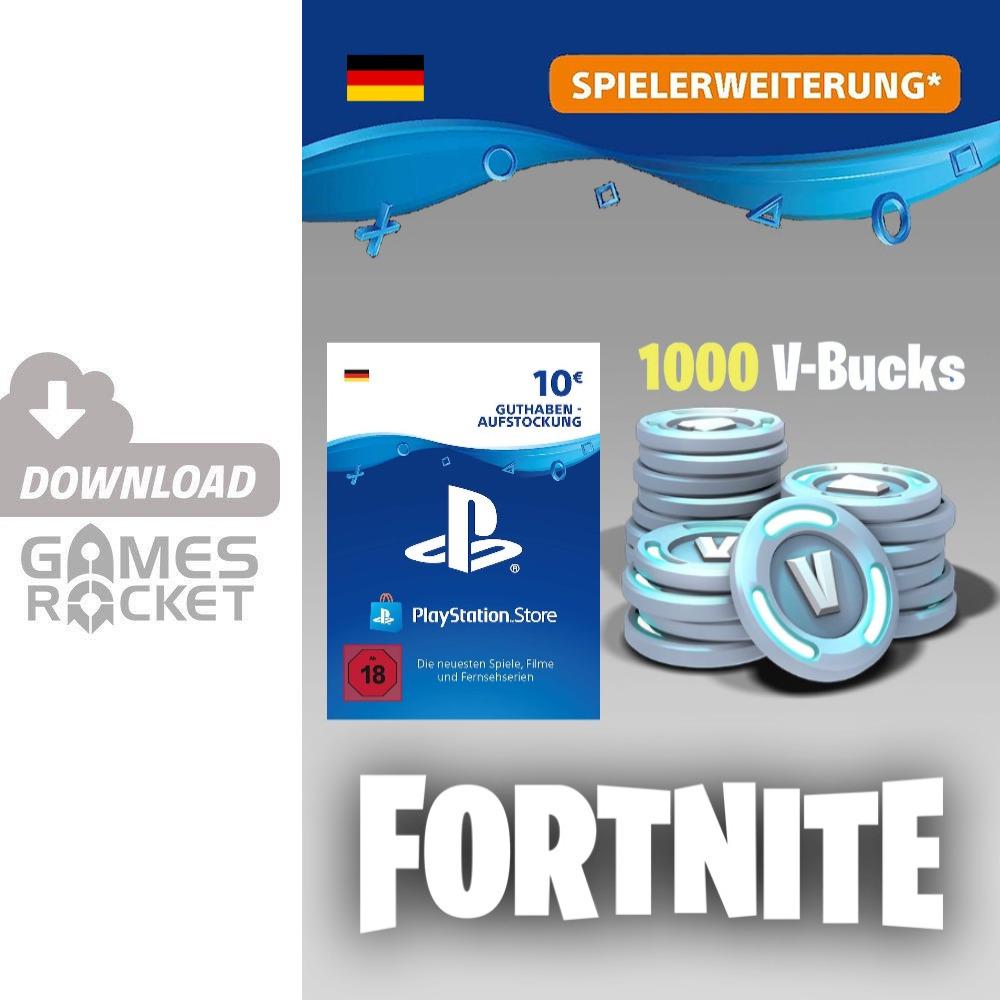 Fortnite 1000 V Bucks De Ps4 Gunstig Kaufen Catch By Ebay
