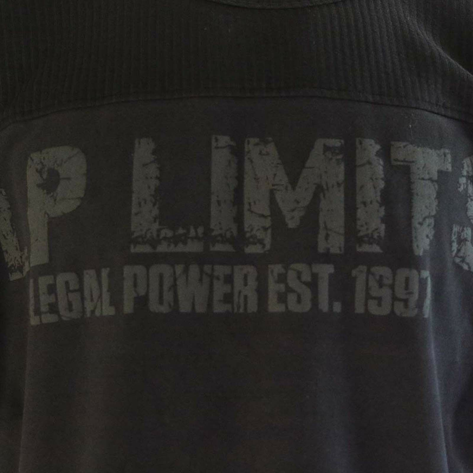 Legal Legal Legal Power LP Limits Shirt Ottobos Baumwolle 320g m² kurzarm 2000-864 405 d34595