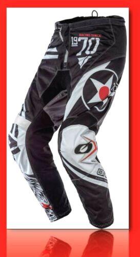 O'NEAL Element Warhawk Pants Black//Gray Size 38  #E010-4038