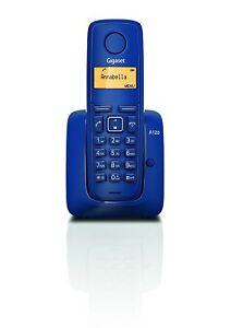 Gigaset-A120-Phone-wireless-blue-Plug-amp-play-terminal-pre-registered