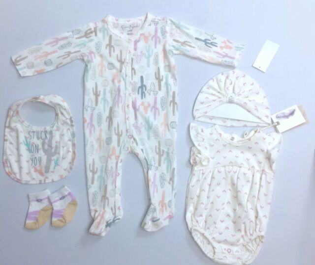 New Jessica Simpson Infant Baby Girl's Jeans Vest  3 Piece Outfit Size 12 Months