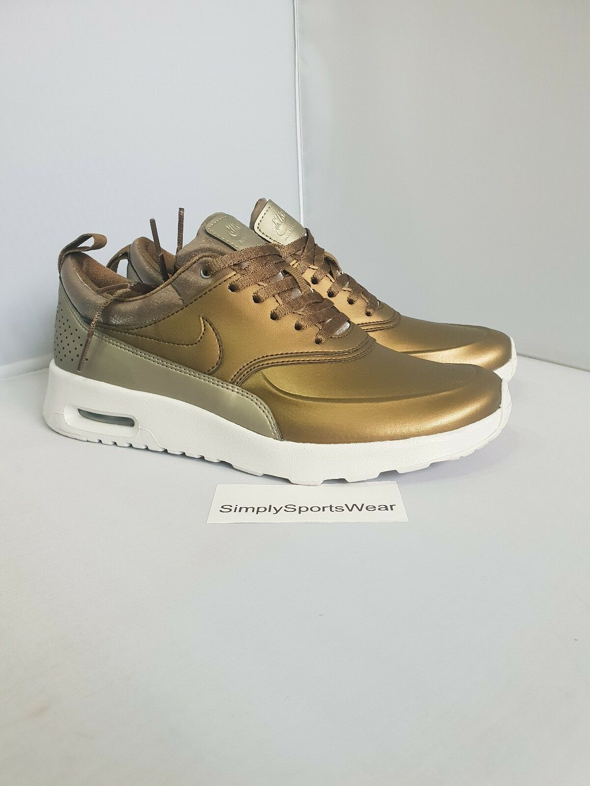 Nike Femme Air Max Thea PRM Or Métallique  UK 4.5 US 7 EU 38