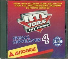 Rtl 102.5 Hit Radio 4 - Corona/Datura/Gigi D'Agostino/Dj Dado/Gala/Quadran Cd Ex