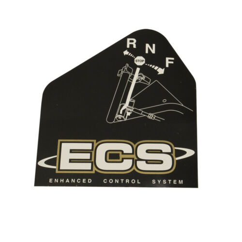 Exmark 103-2243 Right Hand ECS Instruction Decal Turf Tracer Viking S X Series