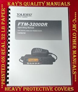 3266d385b3d Image is loading Highest-Quality-Yaesu-FTM-3200DR-Operating-Manual-C-