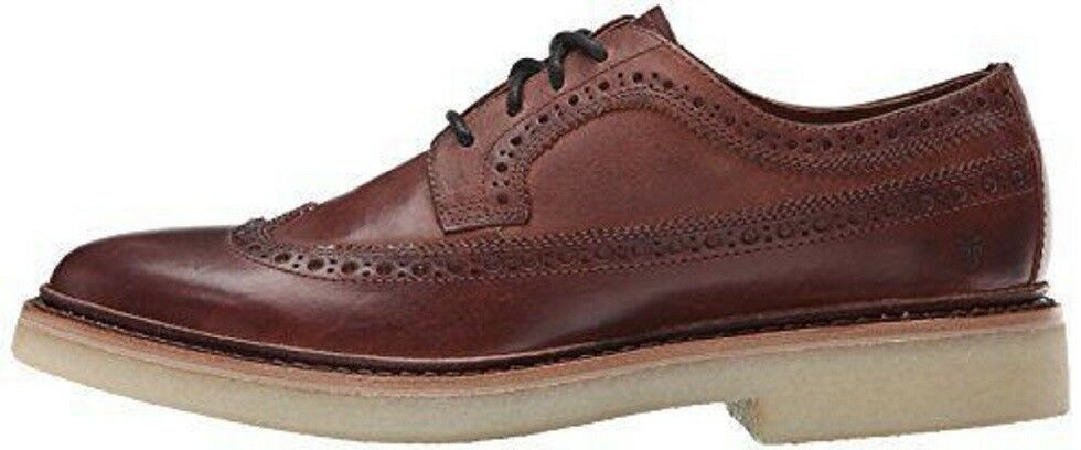 Frye Mens Luke Oxfords schuhe Wingtip Leather braun 9 9 9 NEW IN BOX be9d8b