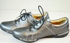 Clarks Amberlee Crest Pewter Metallic Pelle Donna scarpe 8.5 US