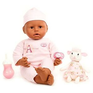 Makes Sounds Wets Poops Cries Baby Annabell Blue Eyes Soft-Bodied Baby Doll