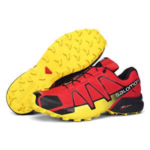 NEW-Men-039-s-Salomon-Speedcross-4-Running-Sports-Outdoor-Hiking-Shoes-Sneakers
