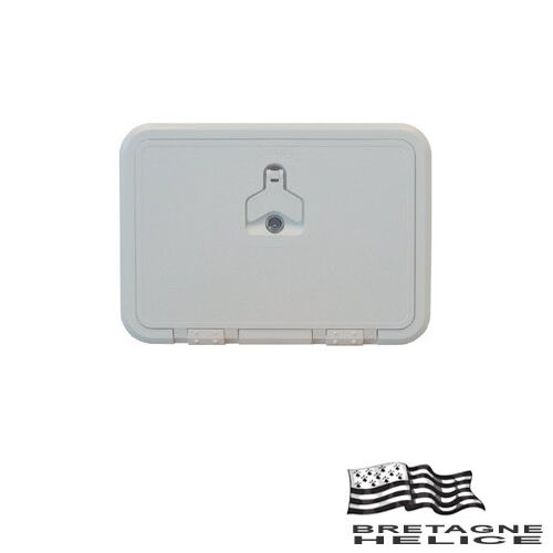 ACCESS HATCH PVC WHITE 270 X 370 MM WITH KEY