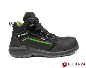 auf Lager weltweit bekannt Ruf zuerst Details zu Sicherheitsschuhe schwarz grün hohe Arbeitsschuhe S3 SRC BASE  BE-POWERFUL