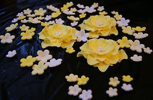 torte blumen zuckerblumen tortendeko geburtstag deko fondant hochzeittorte. Black Bedroom Furniture Sets. Home Design Ideas