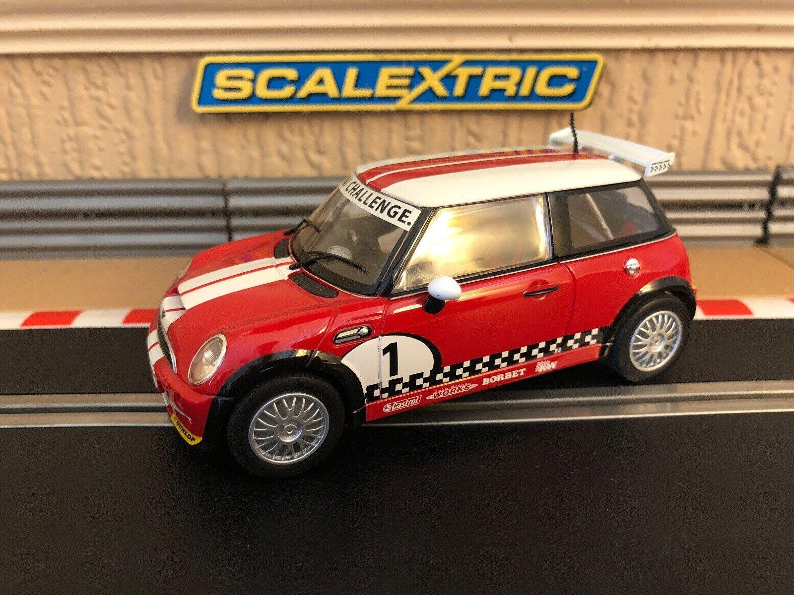Scalextric Mini Cooper Works Challenge C3019 Mint Condition