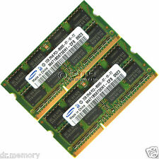 SAMSUNG 4GB 2x2GB DDR3-1066 MHZ PC3-8500 non Ecc Laptop 204pin Laptop Memory