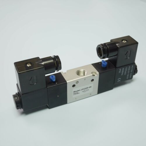 """1//4/"""" 3//2 Way Electric Control Solenoid Valve Double Coil 3V220-08-AC110V"""