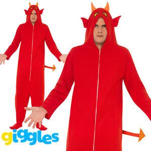 2256153841f0 Image is loading Adult-Mens-Womens-Devil-Costume-Evil-Scary-Halloween-