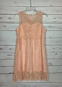 Andree By Unit Anthropologie Women's S Small Lace Sleeveless Spring Summer Dress