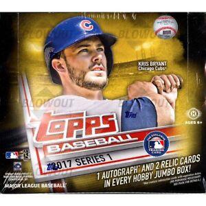 2017-Topps-Series-1-Baseball-Base-Set-amp-Insert-Singles-U-Pick-Card-Build-lot-MLB