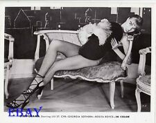 Busty leggy Stripper VINTAGE Photo