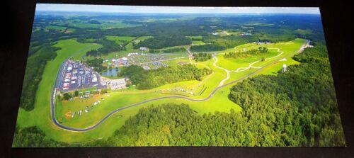 "Aerial Photo Poster 29/"" X 14/"" Virginia International Raceway VIR"