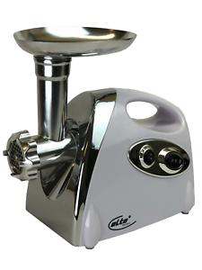 Elta® 1200 Watt Fleischwolf elektrisch Metallgetriebe Wurstmaschine Wurstfüller