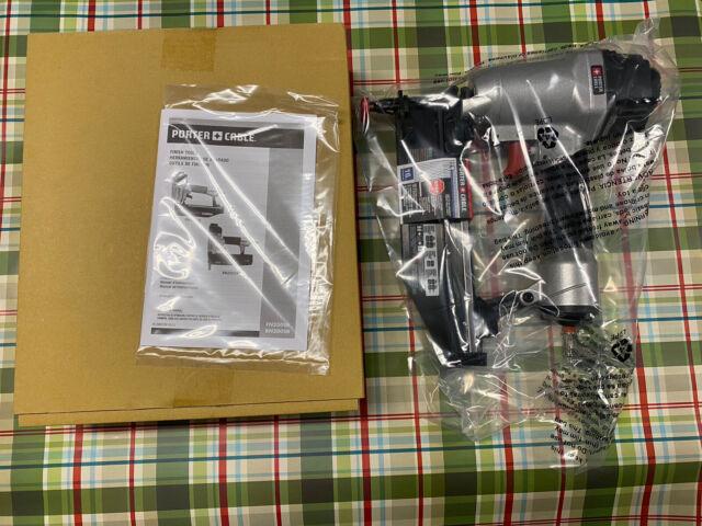Porter Cable 15 Gauge Pneumatic 2 1 2 In Angled Finish Nailer Kit With Bonus 18 Gauge Brad Nailer Kit Da250bn200c The Home Depot