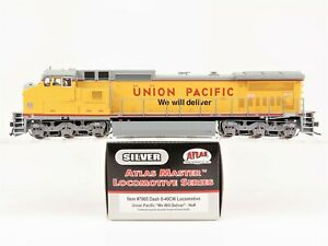 HO-Scale-Atlas-Master-Silver-7665-UP-Union-Pacific-Dash-8-40CW-Diesel-Loco-No