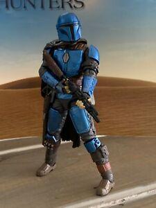 "Star Wars Custom Black Series 6"" Mandalorian Death Watch figure lot #6"