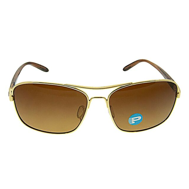 a030b68254b42 New Authentic Oakley Sanctuary Sunglasses Gold with Brown Gradient -  Polarized