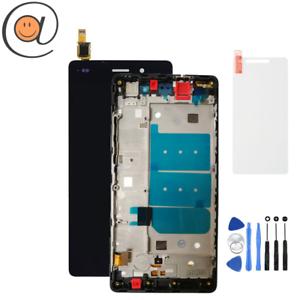 LCD-Ecran-tactile-Huawei-P8-Lite-2015-ALE-L21-Chassis-Noir-Outils-Protection