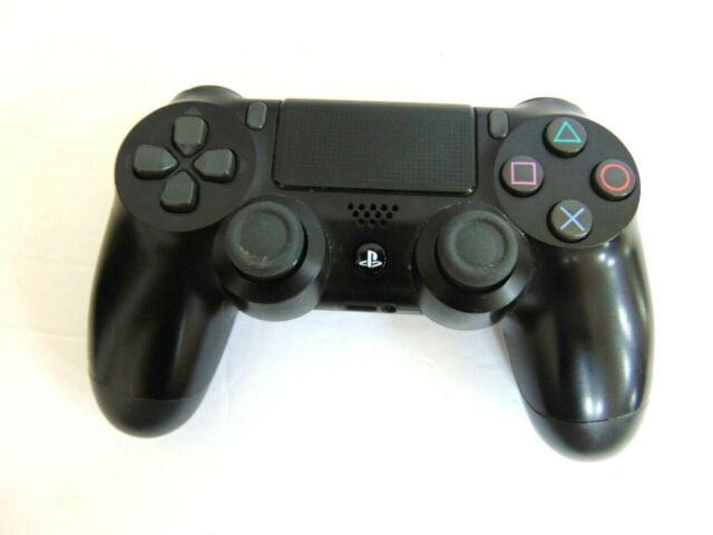 PS4 PlayStation 4 Dualshock 4 Wireless Controller CUH-ZCT1U Jet Black