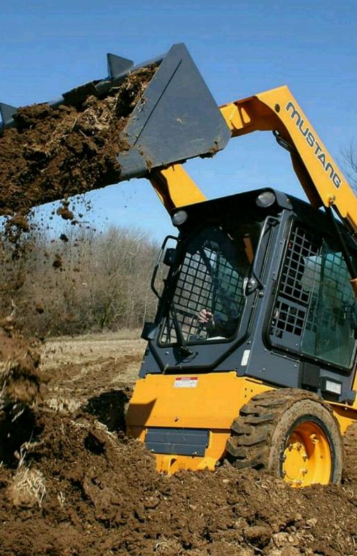 Digger loader and forklift training