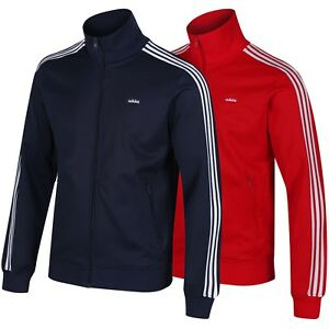 a618d96e012 adidas ORIGINALS BECKENBAUER OG TRACK TOP RED BLUE 3 STRIPES S M L ...