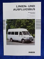 Iveco Bus Linienbus Kleinbus TurboDaily A 40.10 - Prospekt Brochure