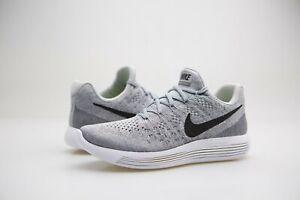 levantar alto Desarmado  863780-002 Nike Women Lunarepic Low Flyknit 2 Running Wolf Grey Pure  Platinum | eBay