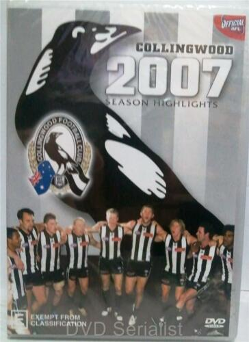 1 of 1 - COLLINGWOOD Football Club 2007 SEASON HIGHLIGHTS Official AFL DVD