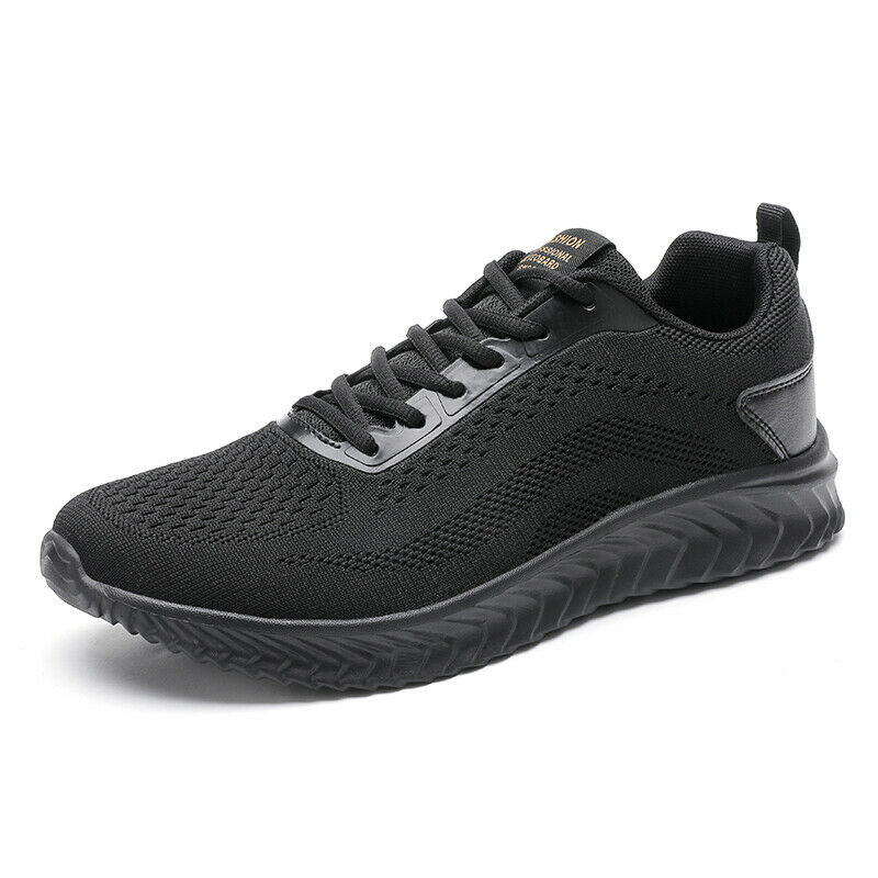 Mens Leisure Sneakers Shoes Gym Outdoor Running Sports Lace up Fitness Casual D