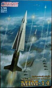 Sedurre disco Articolazione  Freedom 1/35 Nike Hercules MIM-14 Surface-to-air missile internation  4711513151061 | eBay
