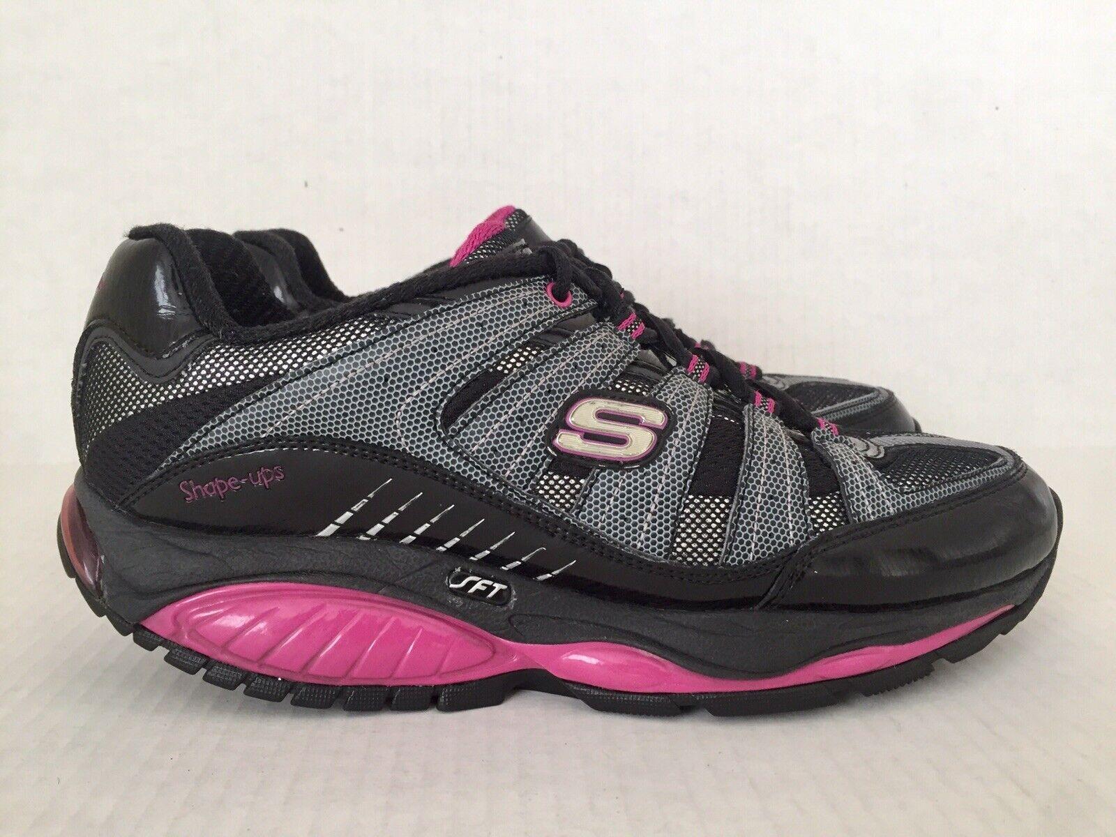 Skechers Shape-Ups SFT Kinetix Réponse tonification Fitness Marche Chaussures Wmn Sz 7 12340