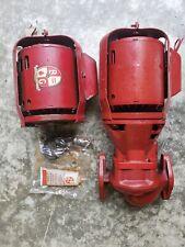 Bell Amp Gossett 106189 112 Hp Series 100 Nfi Circulator Pump And Second Motor