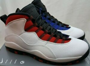 47cf92140148e0 Nike Air Jordan 10 X Retro Class of 2006 Westbrook White Red 310805 ...