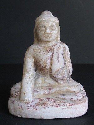 Petit Bouddha en Albâtre de Mandalay BIRMANIE