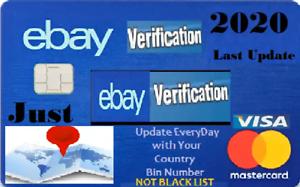 Vcc Virtual Credit Card For Ebay Verification 2 Balance Works Worldwide Ebay