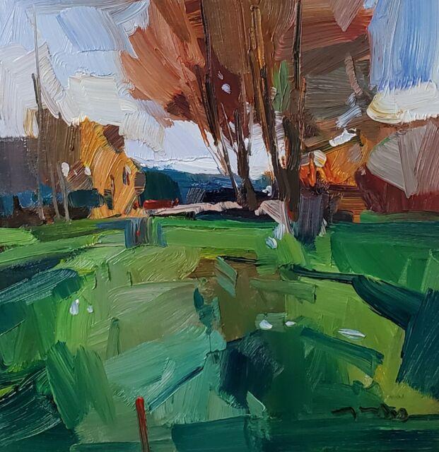 JOSE TRUJILLO Oil Painting IMPRESSIONISM LANDSCAPE CONTEMPORARY ORIGINAL MODERN