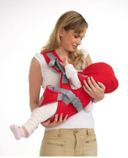 Cotton Infant Baby Adjustable Wrap Sling Front Back Carrier 6 position Max 18kg