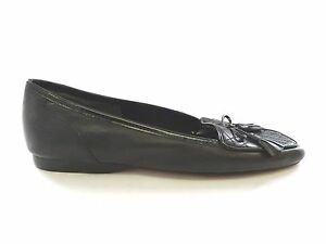 Image is loading New-Womens-Enzo-Angiolini-Black-Flats-Size-6- 65d4181d83