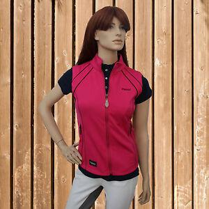 new styles 16118 2833c Details zu Pikeur Damen Softshell Weste Celine, Pikeur Softshell Sommer  Reitweste, Pink